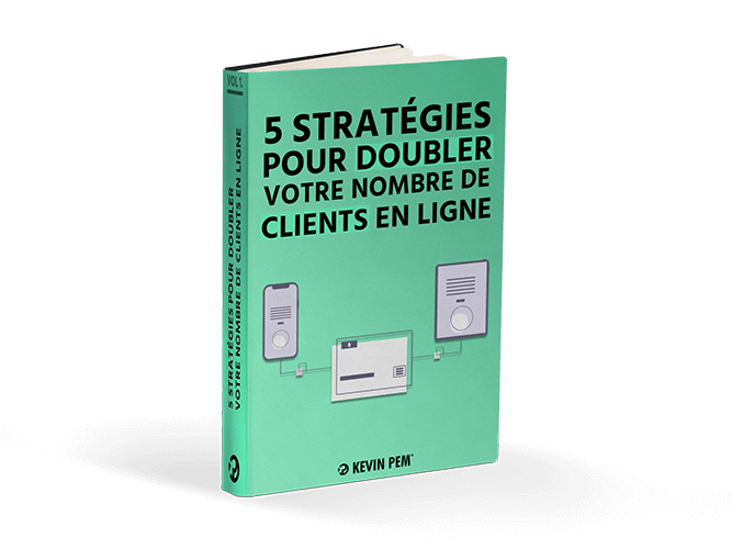 illustration 5 stratégies pour doubler votre nombre de clients en ligne